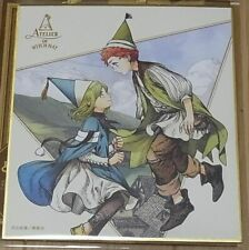 Kamome Shirahama ATELIER OF WITCH HAT Shikishi Art Board Coco & Tartar