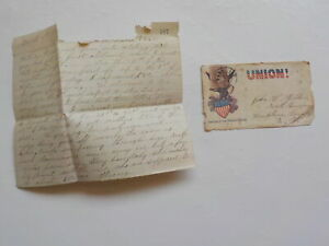 Civil War Letter 1862 Rosecrans Army Passing Skirmishes Rebels 10th Illinois VTG