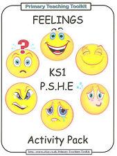 FEELINGS -  PSHE Pack for KS1 Teachers