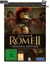 Total War ROME II Spartan Edition Steam Pc Game Code Key Global [Blitzversand]