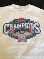 Reebok NFL 2006 Conferance Champions Indianapolis Colts T Shirt Size M