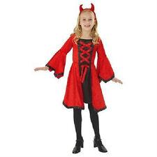 Dazzling Devil girls Halloween costume Large New Free Shipping