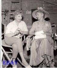 Lucille Ball Hedda Hopper Photo frm Original Negative