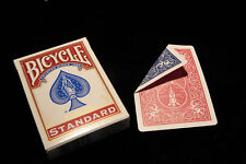 DOUBLE BACK RED/BLUE Bicycle deck - gaff Playing Cards Classic Magic Trick