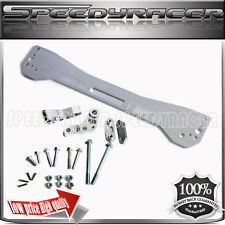 Rear Lower Tie Bar Sub frame Brace SILVER fit 1996-2000 Honda Civic EK EJ EM1