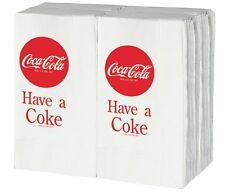 """TableCraft Coca-Cola """"Have a Coke"""" 100ct Logo Napkins - fits Cc301 Dispenser"""