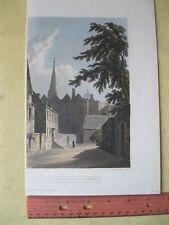 Vintage Print,PEMBROKE COLLEGE,Arkansas,History of Oxford,