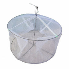 White Shrimp Trap Shrimping Net Cage Cover Fishing Tackle Fishes Prawn Crab New