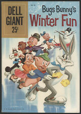 Dell Giant #28, Bugs Bunny's Winter Fun, 1960 - VG