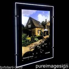 A3 Double Sided LED Window Display Light Pocket Panel Portrait