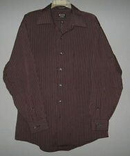 Men's Arrow Fitted LS Button Dress Shirt-L/Large-Very Handsome & Sharp Colors
