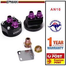 EPMAN Racing Oil Filter Relocation Adapter Kit for Nissan Honda Toyota Ford AN10