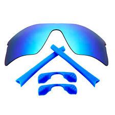 Replacement Lenses & Kit for Oakley Radar Range Blue Mirror & blue Anti-Scratch