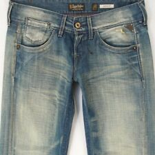 NEW Ladies Womens Replay WV580 JANICE Slouch Blue Jeans W29 L34 BNWT UK Size 10