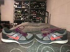 Nike Pegasus 29 Trail Womens Running Training Shoes Size 6 Gray Maroon Red