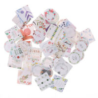 46Pcs/box DIY Flowers Mini Paper Sticker Decor Ablum Diary Scrapbooking StickTB