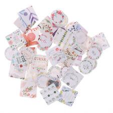 46Pcs/box DIY Flowers Mini Paper Sticker Decor Ablum Diary Scrapbooking Stick BR