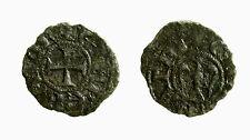 pcc2133_20) Messina Enrico VI e Costanza (1194-1197) ½ Denaro DCI 7 mm gr 0,65