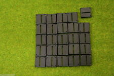 25mm Square bases, Straight Slotted, slotta, style
