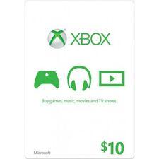 $10 US Xbox Gift card