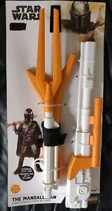 "Official Star Wars Rubie 42"" The Mandalorian Large Blaster Rifle Gun"