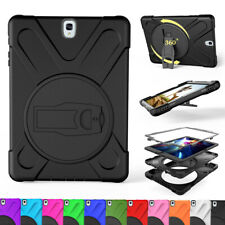 "Hybrid Armor Rugged Shockproof Case Cover Fr Samsung Galaxy Tab S2/ S3 8.0"" 9.7"""