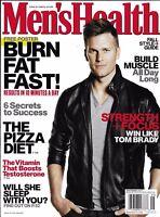 Men's Health Magazine Tom Brady Build Muscle The Pizza Diet Jason Sudeikis Style