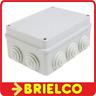 CAJA ESTANCA PLASTICO PVC 255X200X80MM IP55 IK08 CON 12 CONOS Y TORNILLOS BD4256