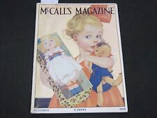 1916 DECEMBER MCCALL'S MAGAZINE - ROSE O'NEILL AD - CUT OUT PAGE - ST 142