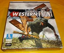 WESTERN FRONT Pc Versione Italiana 1ª Edizione Big Box ○○○○○ COMPLETO
