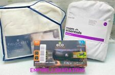 💥 Queen Microfiber sheets w/ Ecosurvivor Speaker & Fieldcrest Queen Duvet Set