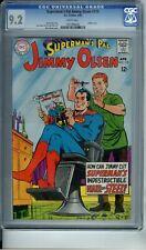 SUPERMAN'S PAL JIMMY OLSEN #110 CGC 9.2 WP INFINITY COVER DC COMICS 1968