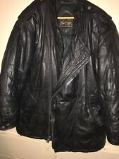 Vintage Golden Goose Brand Daniel Young Leather Diwn Puffer Jacket Coat Hip Hop