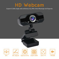 PVR006 1080P HD USB Webcam Camera Laptop Autofocus Video Microphone Calling