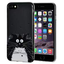 Soft Gel Premium TPU Graphic Skin Case Cover for Apple iPhone 6 6s - Cat