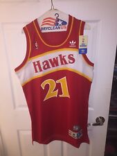 NEW with tags Authentic Adidas NBA swingman Dominque Wilkins Jersey ATL Hawks