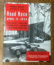 Pebble Beach Road Race Poster, 1954