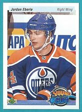 2010-11 Upper Deck 20th Anniversary Young Guns card #220 of Jordan Eberle