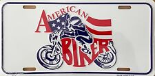 AMERICAN BIKER...Premium Embossed License Plate (LP-1109-216)