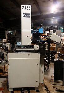 Parlec Model #260 CAT 50 Tool Presetter - Parset Master MP1000E-HH Controller