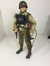 1/6 BBI US 2ND RANGER BTN  LT D-DAY THOMPSON SMG+COLT 1911 WW2 DRAGON DID 21st