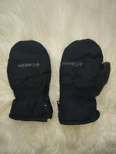 Columbia toddler kids Small Mittens Winter  Black Gloves