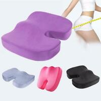Memory Foam Coccyx Tailbone Seat Cushion Lumbar Posture for Car Home Seat Office