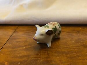 Miniature Pig Figurine Ornament Collectible