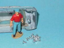 ** DTF724 - Lot de 12 rivets en aluminium tourné pour restauration Dinky Toys