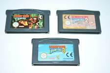 Nintendo Game Boy Advance / GBA Spiele DONKEY KONG COUNTRY 1 + 2 + 3
