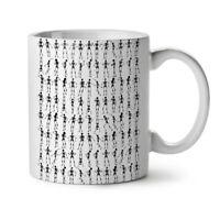 Pattern Skeleton NEW White Tea Coffee Mug 11 oz | Wellcoda