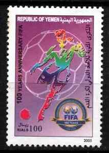 YEMEN 2004 - FOOTBALL / FIFA MNH