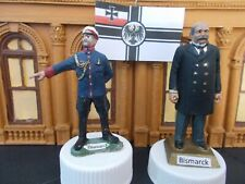 New listing Unique! Bismarck (2 figures), greatest German military figure. (Marx. Basevich.)