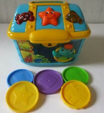 Baby Einstein Count & Discover Treasure Chest With Coins Baby Toy